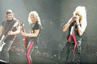 Metallica jammaili lavalla Michael Monroen kanssa: livevideo esityksestä katsottavissa