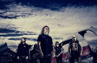 Thrash metal -legenda Slayer jäähyväiskiertueellaan Helsingin jäähalliin joulukuussa