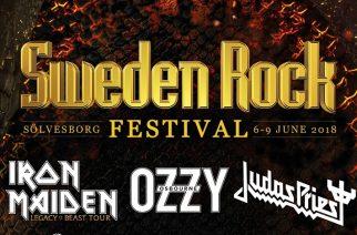 Ruotsin suurin ja kaunein – Sweden Rock festariennakko 2018