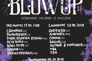 Blowup Vol. 4 -festareille lisää esiintyjiä ja päiväkohtainen ohjelma julki