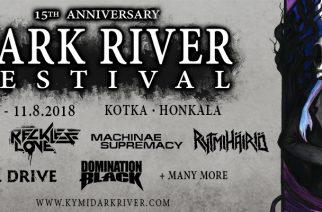 Osallistu kilpailuun ja voita liput itsellesi sekä ystävällesi Dark River Festivaliin!