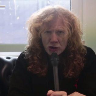"""KaaosTV:n videohaastattelussa Megadethin Dave Mustaine: """"Tulevan albumin nauhoitukset ovat jo alkaneet"""""""