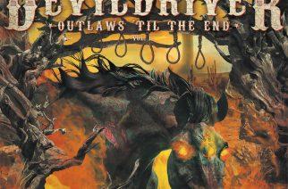 Lainsuojattomat lainahommissa – Arviossa DevilDriver: Outlaws 'til the End, Vol. 1