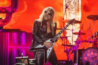 Judas Priestin kitaristi Richie Faulkner olisi halukas miettimään striimikeikan soittamista yhtyeen kanssa