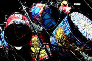"""Iron Maidenin Nicko McBrain esittelee uudistuneen rumpusettinsä ensi vuoden """"Legacy Of The Beast"""" -kiertuetta varten"""