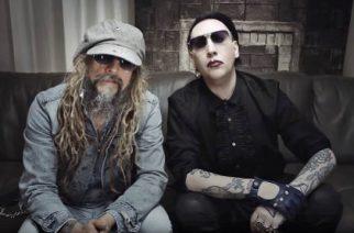 Nikki Sixx, Marilyn Manson ja Rob Zombie esiintyivät yhdessä uutenavuotena Ozzfestissa