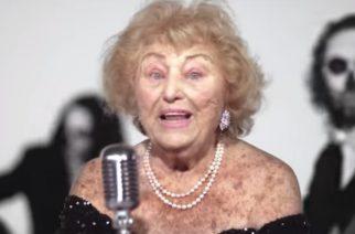 96-vuotias itävaltalaismummeli tykittää death metal -bändin laulajana: katso video Inge Ginsbergista tositoimissa