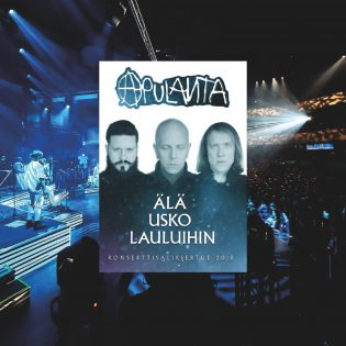"""Erilaista Apulantaa kevään konserttisaleista – arvio """"Älä usko lauluihin""""-kiertueen DVD-paketista"""