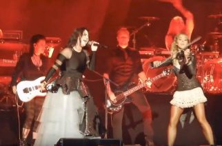 "Evanescence ja Lindsey Stirling esittivät coverin Ozzy Osbournen kappaleesta ""No More Tears"""
