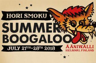 Hori Smoku Summer Boogaloo; Punkin, Garagen ja Rock n´rollin klubifestarit Ääniwallissa