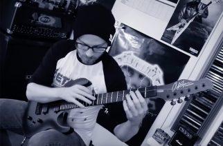 """Metallican """"One""""-kappale soitettuna yhdellä kitaran kielelllä"""
