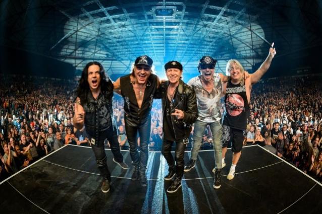 """Scorpions julkaisemassa seuraavan """"Rock Believer"""" -albuminsa helmikuussa: yhtye saapuu maailmankiertueensa myötä Rockfestiin kesäkuussa"""
