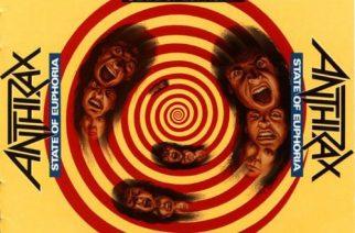 Shortsikauden loppuminen – Anthraxin State Of Euphoria -albumi 30 vuotta