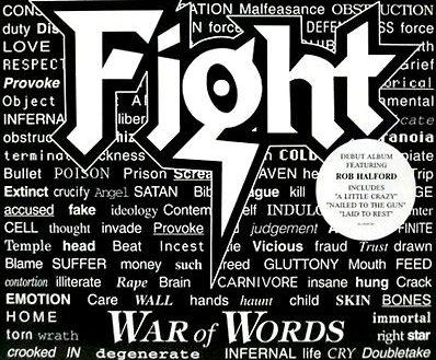 """Varjoon jäänyt syntymäpäiväsankari – Rob Halfordin johtaman Fight-yhtyeen debyytti """"War Of Words"""" täyttää 25 vuotta"""