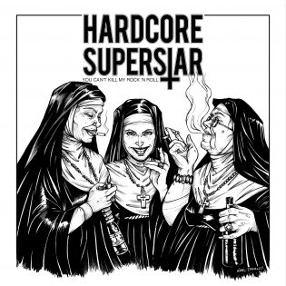 "Hardcore Superstarin ""You Can't Kill My Rock 'N' Roll"" laittaa rokkibileet pystyyn"