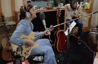 """Aiemmin julkaisematon video John Lennonista ja George Harrisonista: Katso video """"How Do You Sleep?"""" -kappaleen nauhoituksista"""
