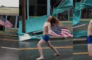 Paidaton Slayer-fani teki paluun: Katso kohtaaminen hurrikaani Florencen kanssa