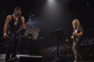 Metallican Robert Trujillo ja Kirk Hammet kunnioittivat yhtyeen konsertissa edesmennyttä Princea