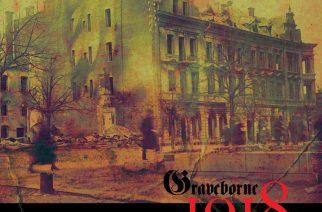 """Black metal kohtaa satavuotisen teeman – arviossa helsinkiläisen Gravebornen kolmas kokopitkä """"1918"""""""