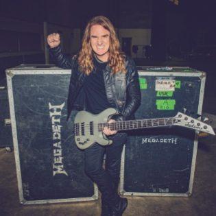 """Megadeth-basisti David Ellefson julkaisemassa coverin Post Malonen """"Over Now"""" -kappaleesta: teaser kuultavissa"""