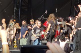 Kornin, Godsmackin, Deftonesin ja Hellyeahin jäsenet kunnioittivat Vinnie Paulia festivaaleilla