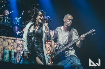 """""""Kaipaan todella paljon livekeikkoja"""": KaaosTV:n videohaastattelussa Within Temptationin Sharon Den Adel"""