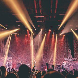 Amorphis täytti Helsingin jäähallin lauantaina
