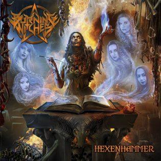 """Niittejä, nahkaa ja heavy metalia naisviisikon tyyliin – arviossa Burning Witches -yhtyeen """"Hexenhammer"""""""