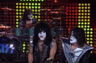 "Kiss esitti ""Shout It Out Loud"" -kappaleensa The Late Late Show With James Corden -ohjelmassa"