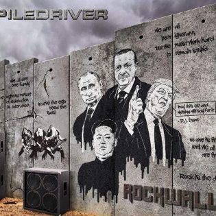 """Status Quon tribuuttiyhtyeenä tunnettu Piledriver on lähtenyt rohkeasti omaan suuntaansa """"Rockwall""""-albumilla"""