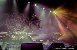 """Lamb Of God vastasi Helsingin jäähallin suurimmasta circle pitistä: katso livevideo fanit villinneestä setin päättäneestä """"Redneck"""" -kappaleesta"""