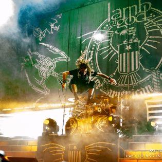 Lamb Of God Helsingin jäähalli