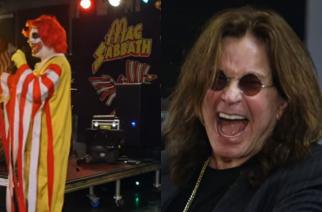 Ozzy Osbourne kohtasi McDonald's -teemaisen Black Sabbath -coveryhtye Mac Sabbathin ensimmäistä kertaa