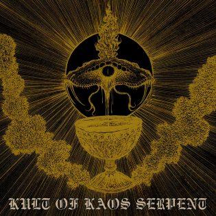"""Kolme bändiä, yksi saatanallinen luomus – arviossa Djevelkultin, Kyyn ja Nihil Kaoksen yhteistyö """"Kult of Kaos Serpent"""""""