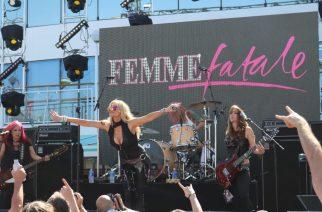 Femme Fatalesta tuttu Lorraine Lewis on kiinnitetty Vixenin uudeksi laulajaksi