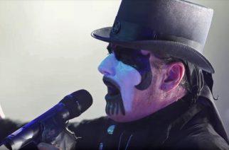 """King Diamondin tulevalta DVD:ltä julkaistiin livevideo """"Welcome Home"""" -kappaleen osalta Graspop Metal Meetingista"""
