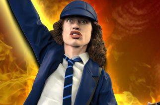 Oletko sinäkin aina halunnut Angus Young -patsaan? Nyt se on mahdollista!