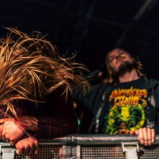 Napalm Death. Rytmikorjaamo. Yleisöä