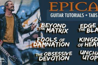 """Epican kitaristi Isaac Delahaye on perustanut """"College Of Metal""""-nettikoulun"""