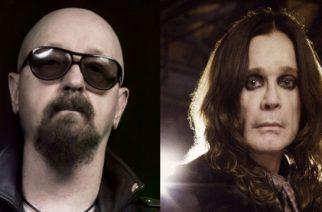 """Judas Priestin Rob Halford kommentoi Ozzy Osbournen terveysongelmia tuoreessa haastattelussa: """"Toivon meidän pääsevän tien päälle pian taas yhdessä"""""""