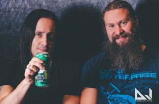 """Metalli ja maltaat kohtaavat – Children Of Bodomin Daniel ja Jaska kertovat KaaosTV:lle tuoreesta """"Lake Bodom Lager"""" -oluesta"""