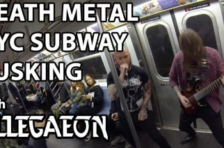 New Yorkin metrossa otettiin selvää, miten matkustajat reagoivat death metaliin – katso video tästä