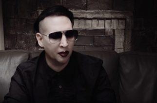 Marilyn Manson on saanut uuden albuminsa valmiiksi