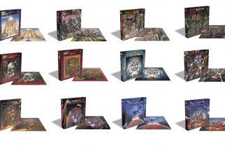 Rock- ja metal -teemaiset palapelit haastavat faneja: Palapelejä Iron Maidenin, Motörheadin, Judas Priestin ja Slayerin levyjen kansitaiteesta