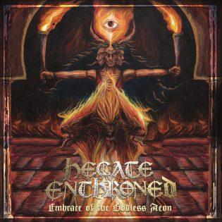 """Hecate Enthronedin uutuuskiekko """"Embrace of the Godless Aeon"""" on kiehtova mutta yllätyksetön albumi"""
