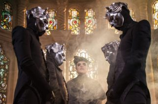 GHOST: Cardinal Copia surrounded by the Nameless Ghouls