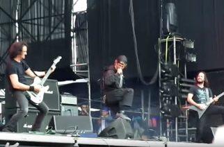 """Lamb of God -solisti nousi Gojiran kanssa lavalle esittämään kappaleen """"Backbone"""""""