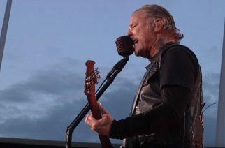 """Metallican Brysselin keikalta katsottavissa ammattilaisten kuvaama video """"Harvester Of Sorrow"""" -kappaleesta"""