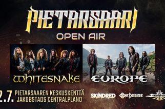 Osallistu kilpailuun ja voita liput itsellesi ja yhdelle ystävällesi Pietarsaari Open Airiin!