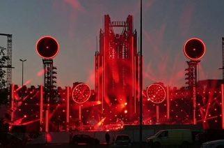 Rammstein tuomassa jättimäisen show:n Ratinan stadionille elokuussa: katso ensimmäiset kuvat yhtyeen tulevasta lavarakennelmasta
